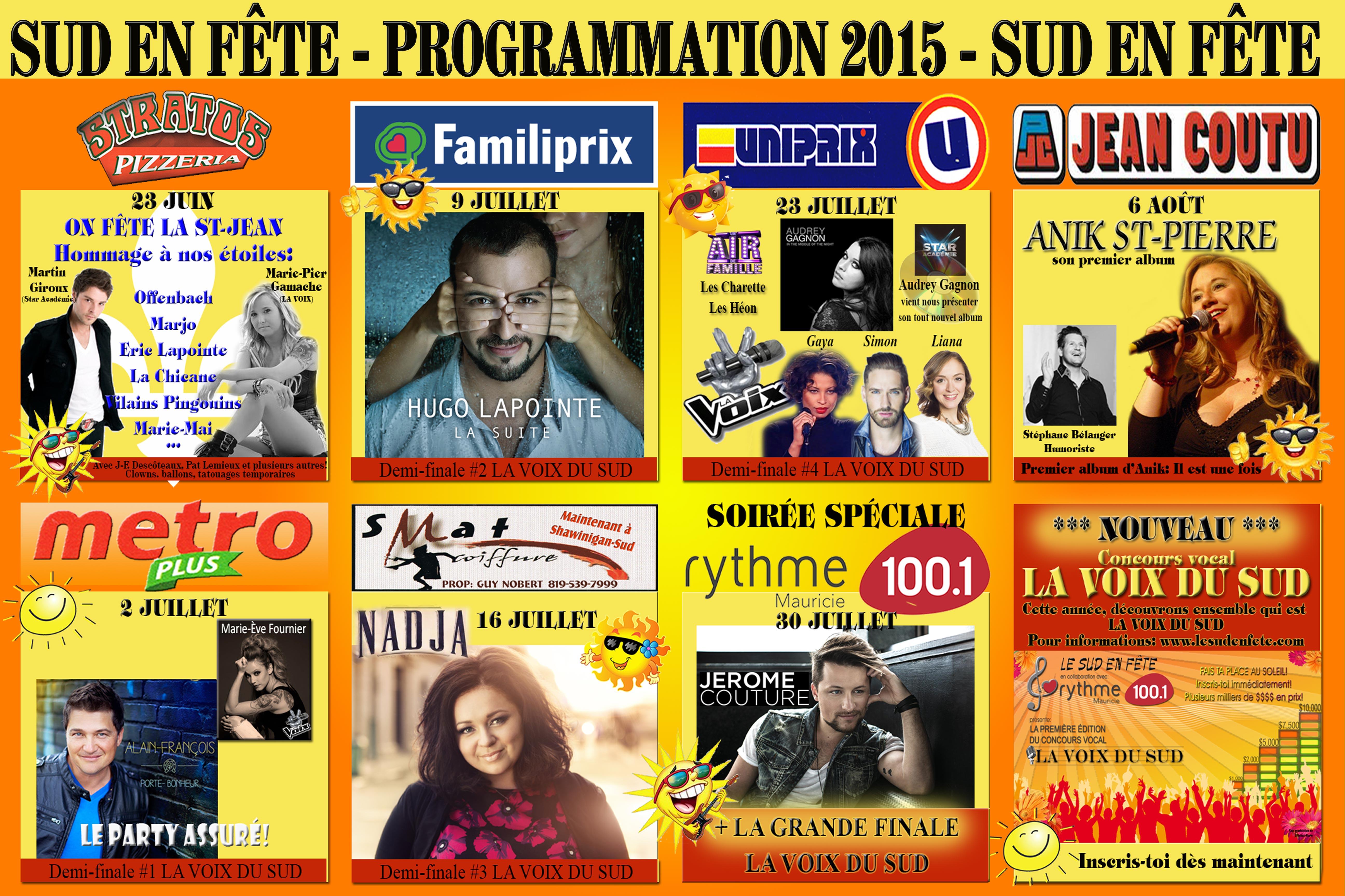 SEF-Programmation-2015